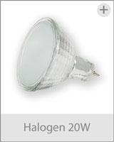 halogen 20watt multirail