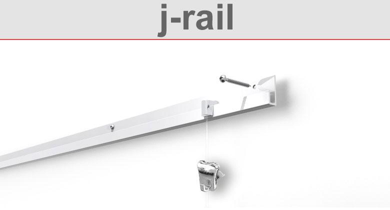 Bilderschiene j-rail
