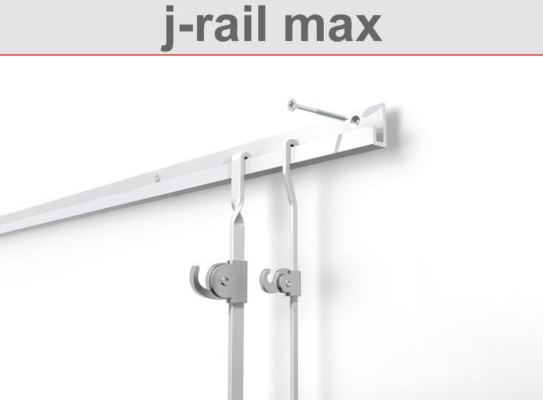Deckenschiene j-rail max