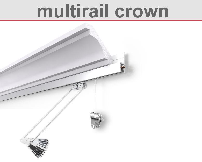Bilderschiene multirail crown