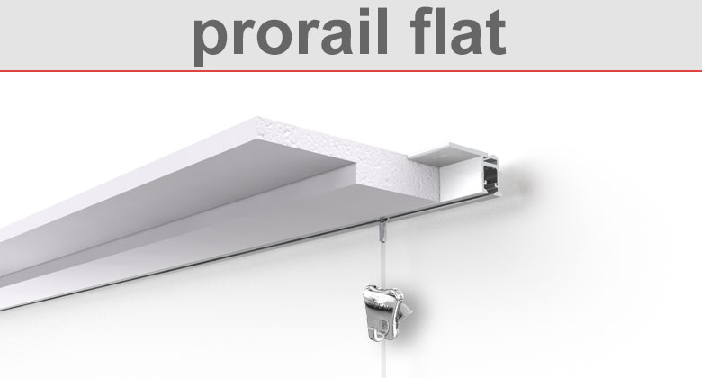 Deckenschiene prorail flat
