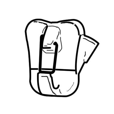 Bilderhaken zipper plus